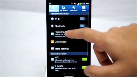 Samsung Galaxy S4: Turn off/on Data Services - YouTube