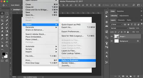 » Creating Vector Graphics in Photoshop