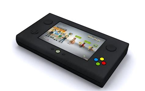 XBOX Portable, Wonderful Console Concept by Chris Hair