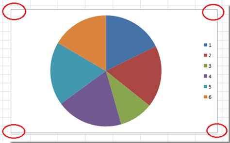 How to make rounded corners in chart border in Excel?