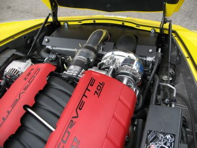 A&A Corvette Supercharger Installed & Tuned Package for