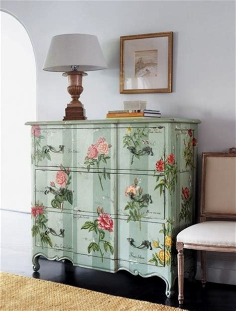 39 Furniture Decoupage ideas - Give old things a second