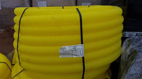 Perforated Single Wall Duct | Plastech (Western) Ltd