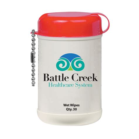 Mini Wet Wipe Canister with Custom Label