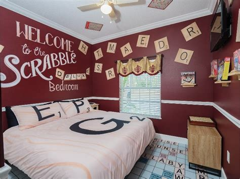 Scrabble Bedroom at The Great Escape Parkside near Orlando