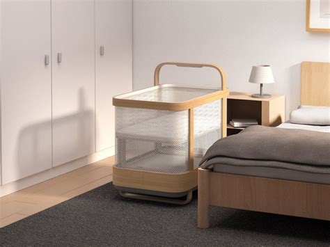 Cradlewise Smart Crib is a crib, bassinet, and baby