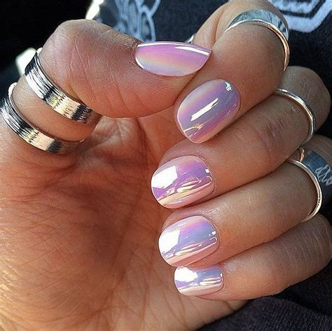 34 Amazing Chrome Nails Trends That Suit All