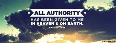 Matthew 28:18 NKJV - All Authority Has Been Given To Me