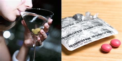 Why You Shouldn't Mix Ibuprofen And Alcohol | SELF