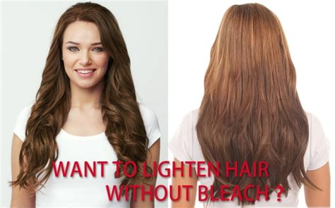 How to Lighten Hair without Bleach?