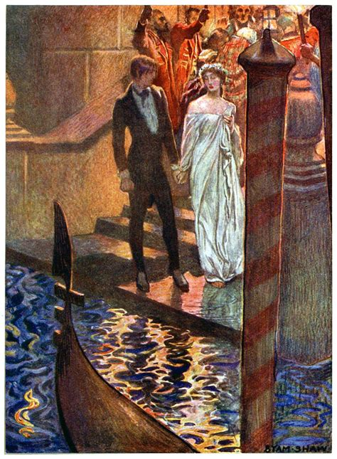 The Assignation – Old Book Illustrations