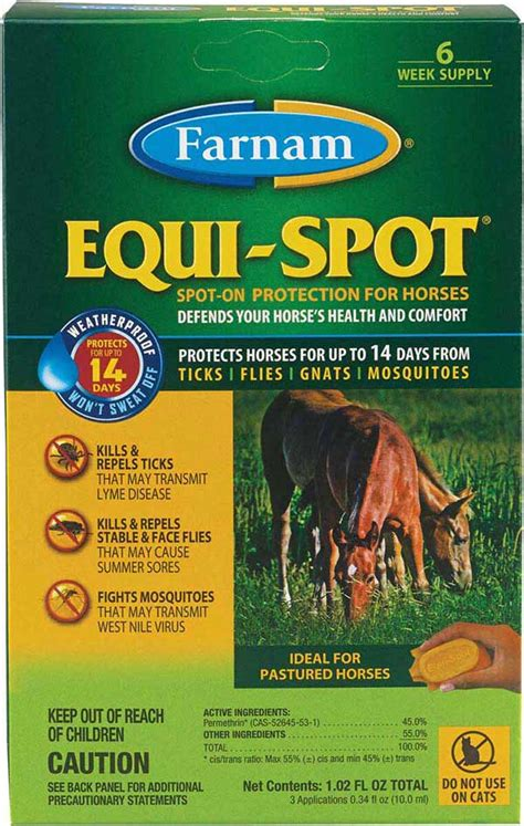 Equi-Spot Spot-On Fly Control for Horses Farnam ( - Fly