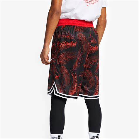 Mens Clothing - Nike Dry DNA Short Floral - University Red
