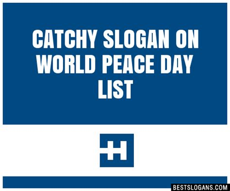 30+ Catchy On World Peace Day Slogans List, Taglines