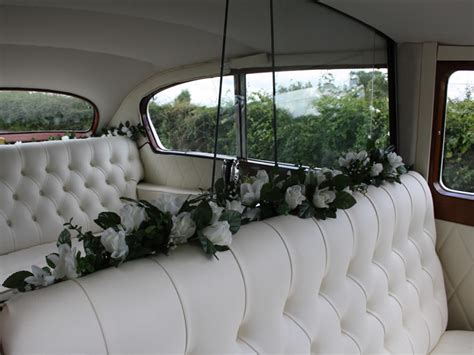 Austin Princess vintage wedding car, available for hire in