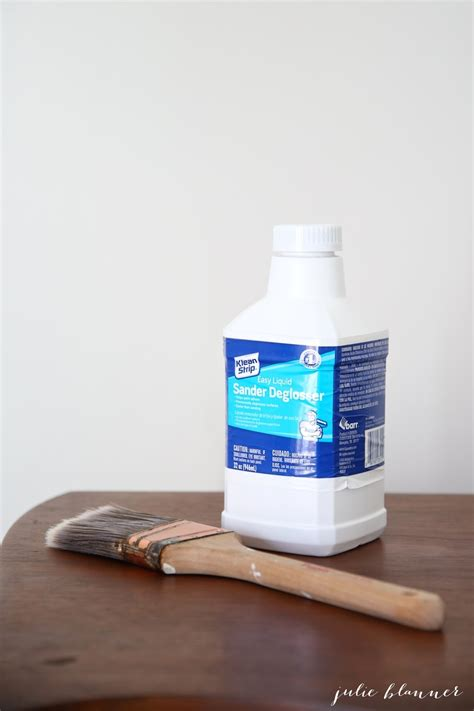 Paint without Sanding for Furniture, Cabinets & Trim