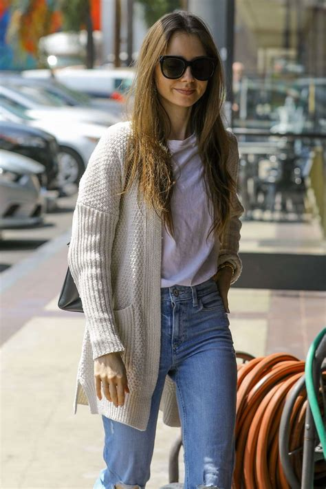 Lily Collins – Out in Hollywood   GotCeleb