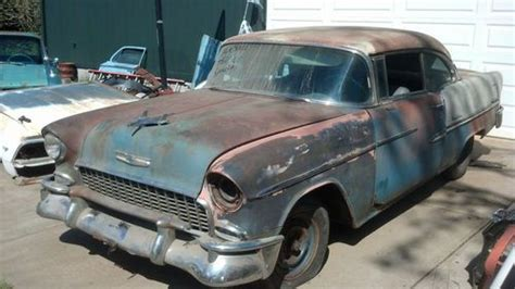 Sell used 1955 Chevy Belair 2 Door Hardtop W/Continental