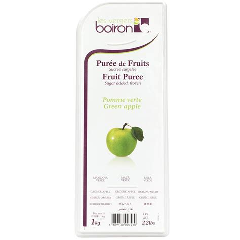 Green Apple Fruit Puree by Boiron from France - buy baking