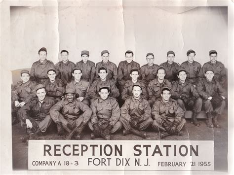 1955 Co A, 18-3 Ft Dix, NJ   Military Yearbooks