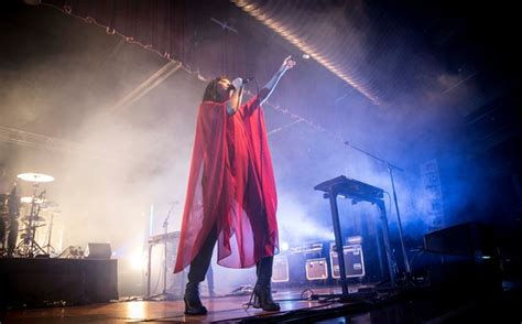 Photos of The Naked And Famous live in Auckland