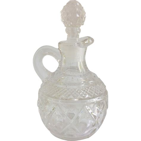 Imperial Glass Cape Cod Small Crystal Cruet from