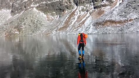 They're walking on water: Hikers discover crystal clear