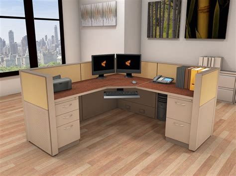 Office Systems Furniture - 6x6 Cubicle Workstations