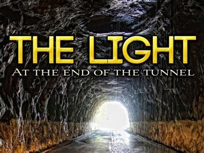 Church Preaching Slide: Light at the End of the Tunnel