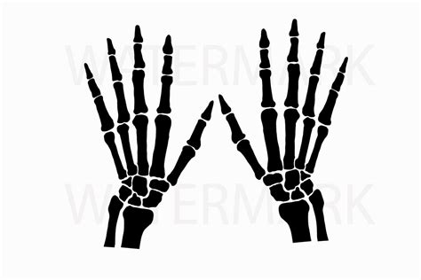 How To Draw A Skeleton Hand Step By Step ~ Drawing