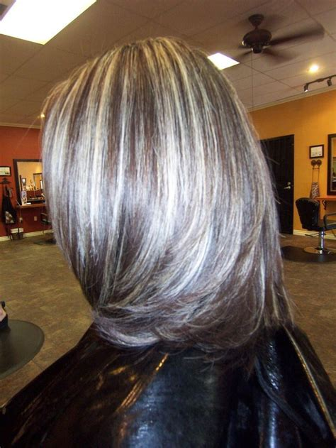 Best 25+ Brown with grey highlights ideas on Pinterest