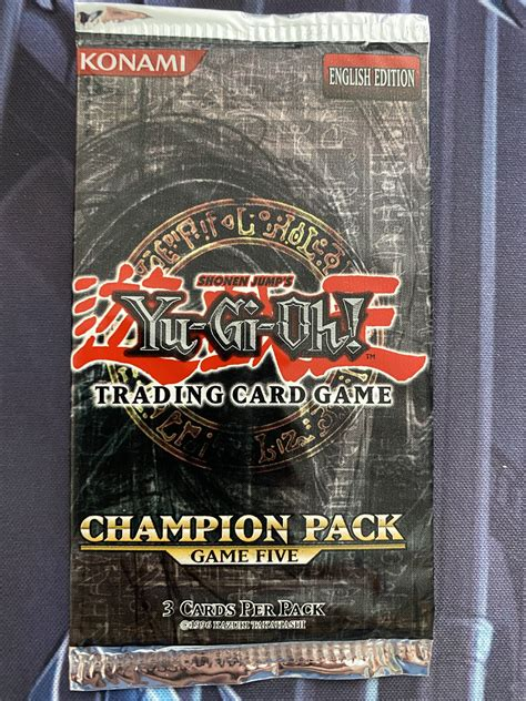 Champion Pack 5 Booster Pack | Clerc's Trading Cards