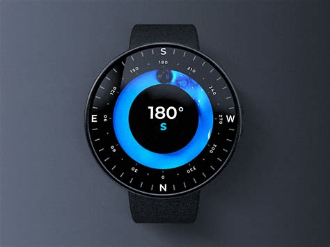 Futuristic Compass by Vlad Gorbunov for FΛNTΛSY on Dribbble