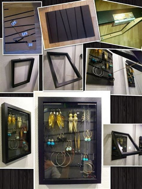Open and close RIBBA earrings holder/organizer - IKEA Hackers