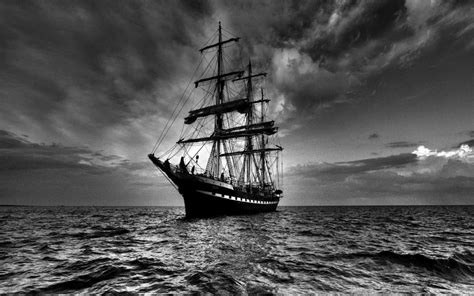 Sailing Ship in Dark Wallpapers | HD Wallpapers | ID #6486