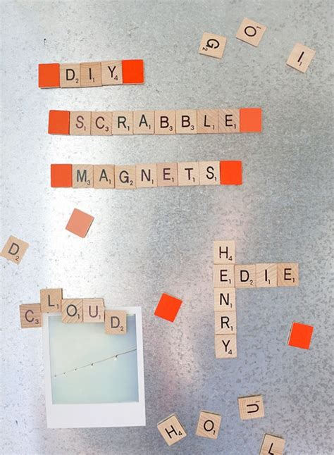 How to Make Scrabble Magnets - Say Yes